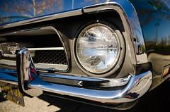Control and Balance (GmanViz) Tags: color detail ford car nikon automobile bumper chrome headlight grille mustang 1972 gmanviz grand d7000