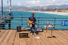 Music on the Pier -- Rafi B Levi (Matthew Warner) Tags: california musician usa outdoors us losangeles unitedstates guitar santamonica livemusic pacificocean santamonicapier santamonicabeach