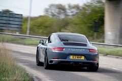 .2 (MJParker1804) Tags: blue 2 6 driving flat 911 s turbo ii porsche gen graphite carrera turbocharged 991 c2s 9912