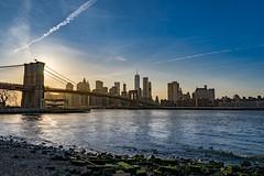 New York (maki13371) Tags: new york city travel bridge sunset skyline brooklyn landscape cityscape manhatten