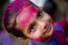 Holi-2016 (Karthikeyan.chinna) Tags: travel portrait people india color colour festival canon happy 50mm colorful dof candid south culture happiness celebration 5d chennai holi tamilnadu karthikeyan cwc 2016 chinna markiii chennaiweekendclickers chinnathamby holi2016