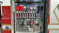 North Vancouver District, BC Engine 3 (Pump Panel) (walneylad) Tags: red white firetruck fireengine montroyal bomberos firedepartment dials firebrigade levers pumper pompiers firerescue bombeiros fireservice emergencyvehicles pumppanel feurwehr engine3 fireapparatus northvancouverdistrict fireappliances firevehicles pumpladder