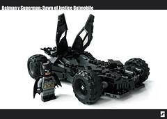 Lego Batman v Superman Batmobile Redux (Simple1DEA) Tags: dark comics toys dawn justice dc lego superman v batman knight superheroes batmobile league moc bvs batmanvsuperman