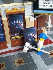 Movie is out (terryfay1983) Tags: movie lego superman batman vs palacecinema legocinema
