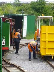 P1050736 (Hampton & Kempton Waterworks Railway.) Tags: diesel loop digger galaday 2015 darent modwagon colinswagon