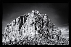 First There was Night (brev99) Tags: color utah border zionnationalpark vignette canyons d7100 ononesoftware silverefex saturatedslidefilmeffect sigma1770os cameracorrectionfilter perfecteffects9