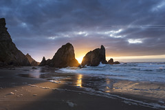 Praia da Ursa // Cabo da Roca (www.antoniogaudenciophoto.com) Tags: voyage sunset mer seascape praia portugal de soleil sintra coucher sable da paysage plage ursa tourisme ocan
