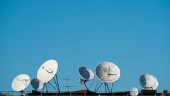 Outbound (photosam) Tags: england london raw unitedkingdom satellite telephoto fujifilm communications lightroom xe1 fujifilmx xc50230mmf4567ois xc50230mm14567ois