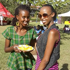 Awesome friends I met with at... (githinjimwai) Tags: africa events smiles culture multicultural beautifulpeople kenyan cultureweek uploaded:by=flickstagram instagram:photo=674164716872722636227669921