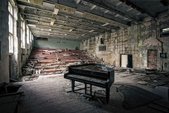 'We played to everyone especially ourselves'.... (Taken By Me Photography) Tags: piano abandoned adventure art building key keys play closed creepy chemical chernobyl theatre pripyat derelict decay dark explore exploring empty eerie crowd entertainment music forgotten floor gone left lost reactor radiation shut silent silence urbex urban ue ukraine vacant wall window walls zone concert playing takenbyme wwwtakenbymephotographycouk takenbymephotography