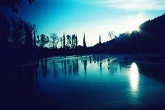 Ice skating (kerosinM) Tags: winter light snow film 35mm lomo lca xpro crossprocess iceskating agfa ctprecisa