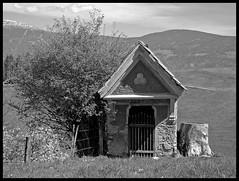 WAYSIDE CHAPEL NEAR ST. PAUL . CARINTHIA . AUSTRIA (LitterART) Tags: nikon country stpaul chapel krnten carinthia land idyll baroque barock idylle kapelle marterl lavanttal wegkapelle nikonp330