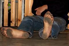 dirty party feet 531 (dirtyfeet6811) Tags: feet barefoot soles dirtyfeet partyfeet dirtysoles