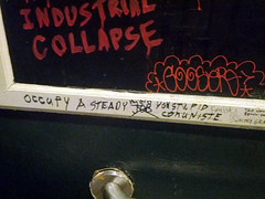 Occupy a steady job (Exile on Ontario St) Tags: new bar bathroom graffiti words orleans louisiana industrial neworleans politics capital stall toilet toilette communist communism aunt collapse stupid restroom nola written capitalism fascism job mur stable politique economy fascist communisme capitalist toilettes tikis politic insult louisiane steady tikibar communiste aunttikis stupide emploi writtenwords occupy capitalisme aunttiki capitaliste steadyjob occupymovement nola2012 mouvementoccupy