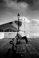 deep thought (I AM JAMIE KING) Tags: people river pier candid hull thedeep humansofhull