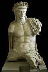 Emperor Tiberius, Roman statue (marble), 1st century AD, (Musei Vaticani, Vatican City). (mike catalonian) Tags: portrait sculpture marble tiberius ancientrome