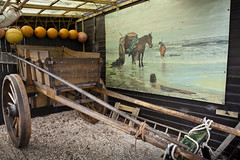 How things used to be (Peter Trott) Tags: sea painting harvest cart castricum seaharvest