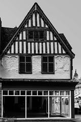 Empty shop (CarolAnn Photos) Tags: reflection window shop april banbury 2016 butchersrow eosm