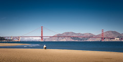 Golden Gate Bridge (Loic Severin) Tags: sanfrancisco california us unitedstates goldengatebridge crissyfield
