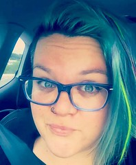 Not gonna lie, I took some hella cute selfies today. Still getting used to the blue glasses (vs purple)! #selfie #selflovesunday #mermaid #mermaidhair #teal #coloredhair #undercut (ClevrCat) Tags: blue cute glasses still purple teal some used lie getting vs mermaid today took gonna hella selfie coloredhair undercut selfies mermaidhair i not instagram ifttt selflovesunday
