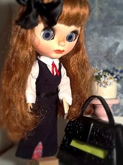Blythe-a-Day May#2: A Day in the Life: Juliette La Rue in the Morning...