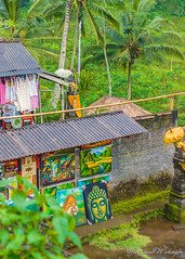 Terrace Art (Sound Quality) Tags: travel bali inspiration green art rain forest painting indonesia shrine rice terrace buddha crafts tiger terraces arts craft buddhism palm palmtrees jungle hindu ubud baliindonesia tagalalang wwwmichaelwashingtonaecomhttpwwwflickrcomphotosmichaelwashingtonphotography tagalallang