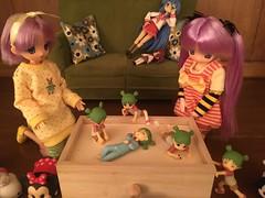 Yotsuba Take Over (Ringochan39) Tags: anime doll yotsuba luckystar mamachapp