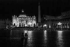 2769 years old (simona.photo) Tags: blackandwhite rome night nikon piazzasanpietro