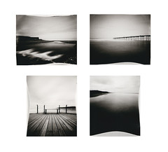 WPPD2016 - Montage (Ian Burton) Tags: bw beach paper 04 photographic pinhole chemistry positive ilford saltburn 2016 wppd