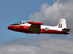Jet Provost (Bernie Condon) Tags: plane flying aircraft aviation military hunting jp trainer raf bac jetprovost
