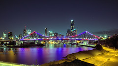 STORY BRIDGE 24.04.2016 (16th man) Tags: bridge canon river eos australia brisbane qld queensland brisbaneriver storybridge newfarm brisbaneskyline wilsonsoutlook eos5dmkiii brisbaneskyline2016 brisbaneskylineapril2016