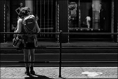 Torino 0396 (malko59) Tags: street urban blackandwhite italy reflection torino turin riflessi biancoenero