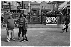 I'll Show You Muscle (Rolf Siggaard) Tags: street people bw monochrome blackwhite losangeles candid environmental social venicebeach streetphotos c1 captureone mirrorless fujix100s 23mmapsc