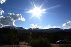 Afternoon in Breckenridge (Erika Grimm) Tags: sky sun snow ski mountains sunshine outdoors colorado co breckenridge snowcappedmountains snowcappedpeaks