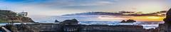 sutro ruins (pbo31) Tags: ocean sanfrancisco california sunset sky panorama color nature nikon pacific earth tide large panoramic landsend shore bayarea sutrobaths april westcoast stitched richmonddistrict 2016 boury pbo31 d810