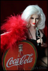 Phicen Coca Cola (Hugo's Dolls) Tags: scale photography doll 16 seamless stainless silicone hugosdolls phicen