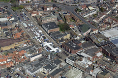The market place - Great Yarmouth Aerial Images (John D F) Tags: norfolk aerial fromabove greatyarmouth eastanglia aerialimage