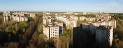 Rooftop Panorama of Pripyat Skyline (tarmo888) Tags: aerialview ukraine special urbanexploration chernobyl urbex   pripyat chornobyl ukrayina photoimage  sooc sonyalpha rooftopping czarnobyl sony geosetter   ternobl chnpp beenwaiting sweeppanorama  ruinporn geotaggedphoto prpjat tornobl nex7 sel18200 foto standarddowndirection year2016 oblastkyiw