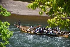 Hozu-gawa river boat ride (Hakutsugu) Tags: river kyoto gorge