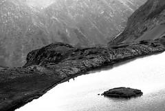 Mirror (Igor Komissarov) Tags: light lake mountains rock island mirror nikon sochi abigfave