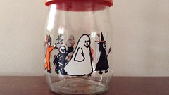 Vintage Halloween jar (the ghost in you) Tags: fall halloween october candy witch trickortreat vintagehalloween