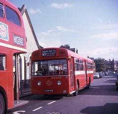 VLW64G (21c101) Tags: london merlin 1968 londontransport mcw woodgreen aec 3p2r vlw64g mbs64