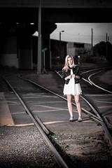 1M8A3352 (mozzie71) Tags: bridge night train truck dark lights stop freeway