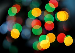 DSC_8768 (klakeduker) Tags: from new color beauty lights glare bokeh circles year garland bulbs helios 44m