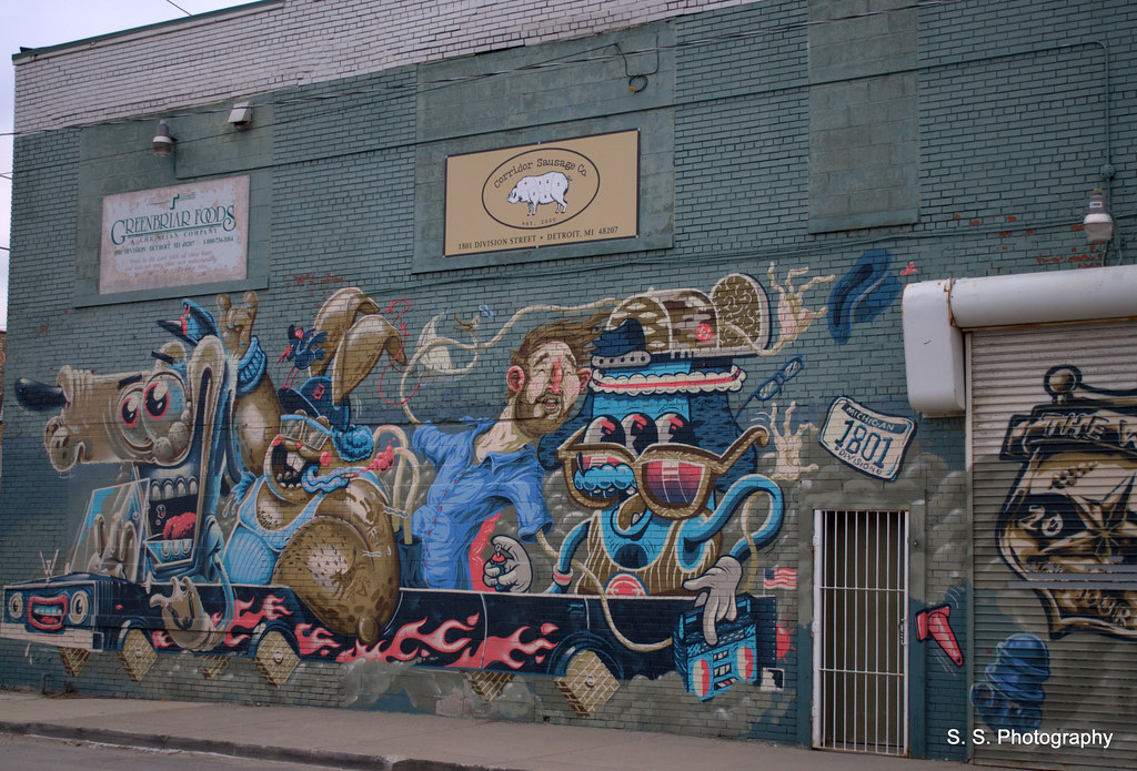 The world 39 s most recently posted photos of detroit and for Detroit mural factory