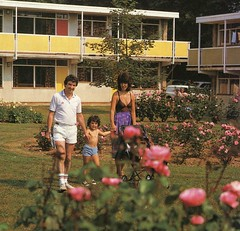 Pontins Hemsby Holiday Camp (pic from 1984 brochure) (trainsandstuff) Tags: vintage retro pontins holidaycamp hemsby maddiesons