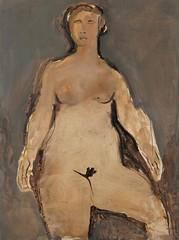 Mare di luce, 1953 // by Marino Marini (mike catalonian) Tags: portrait italy female painting fulllength 1950s 1953 xxcentury marinomarini