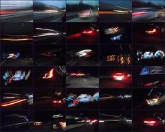 German Autobahn at Night (Cannon-Ben M.) Tags: lights highway autobahn reflexions lichter reflektionen bouket