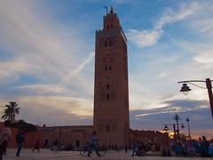 The old city in Marrakech (joelhender94) Tags: mosque morocco marrakech jamaaelfna