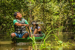 NO_Tefe0084 (Visit Brasil) Tags: travel brazil tourism nature horizontal brasil amazon rainforest retrato natureza turismo norte amazonas ecoturismo ecotourism externa nutico tef comgente diurna riosolimes reservamamirau visitbrasil
